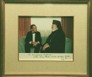 Archbishop Iakovos and President Bush  » Click to zoom ->