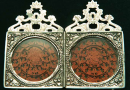 Silver Encased Diptych  » Click to zoom ->